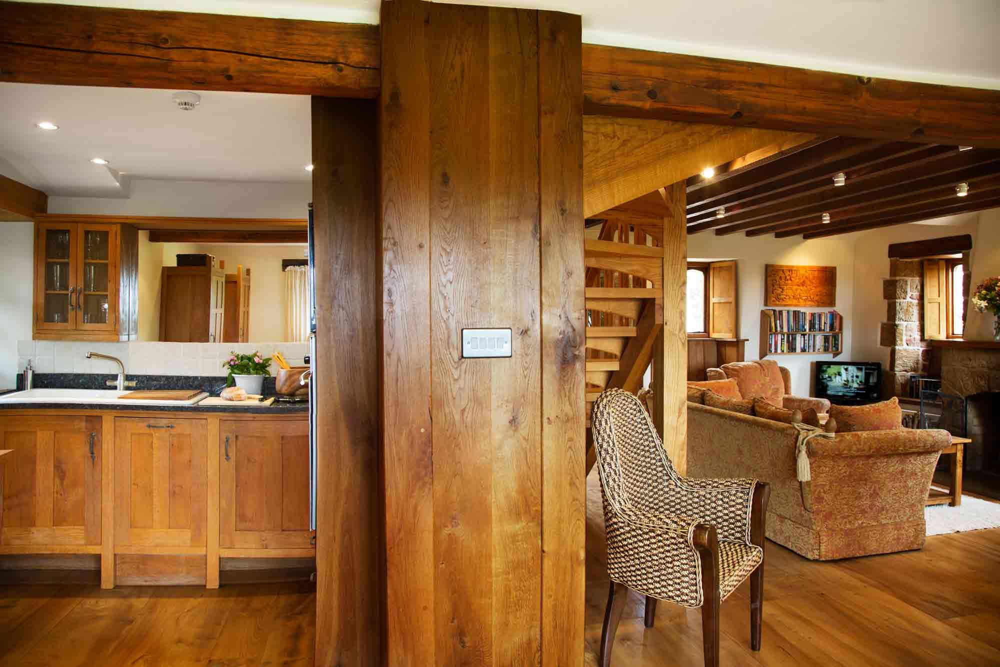 Cobnut - Heath Farm Cottages - Chipping Norton Oxfordshire - Spacious Living Areas