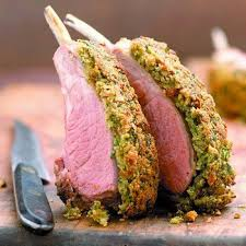 Herb crusted rack of lamb from Taylor Made Top Posh Nosh