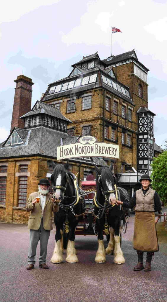 Hook Norton Brewery near Heath Farm Holiday Cottages