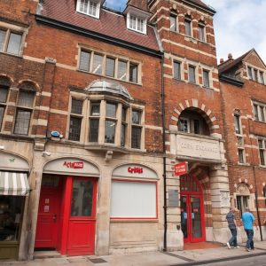 The Old Fire Station Oxford Performing Arts space