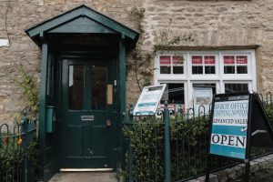 Entrance to The Theatre Chipping Norton