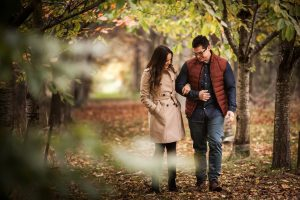 Romantic walks in the area. The woodland at Heath Farm Holiday Cottages an idyllic retreat for couples