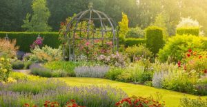Waterperry Gardens in Oxfordshire