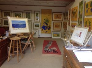 Yellow Hat Tribe Gallery near Heath Farm Holiday Cottages
