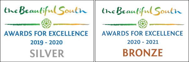 Beautiful South Silver award